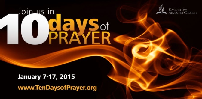 Finale: Ten Days of Prayer